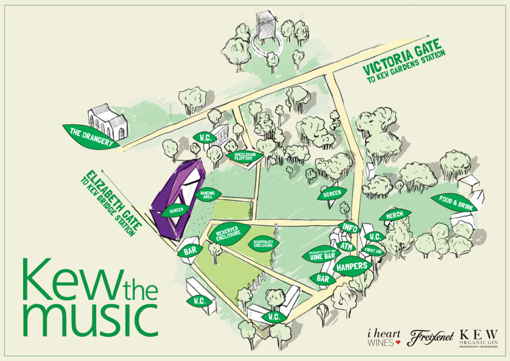Kew The Music Map